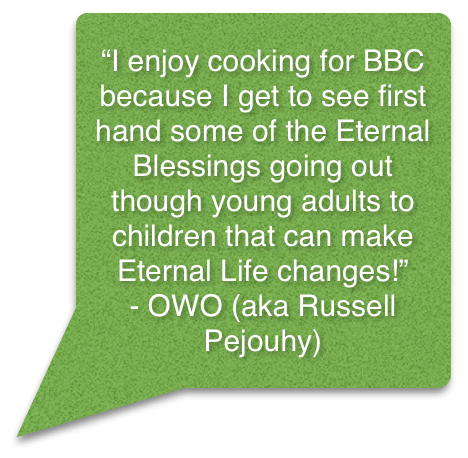 OWO Russell Quote for volunteer page