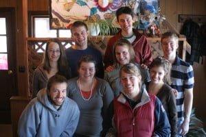 Cabin staff reunion 2008 tuna cheeks sparkles ru captain sprocket elvis reggie marlin