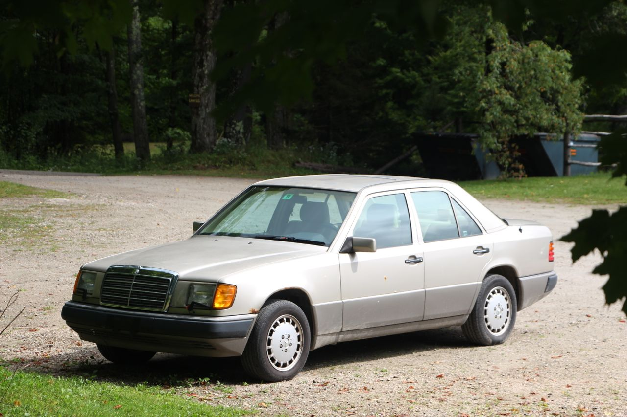 Cost To Paint A Car >> 1993 Mercedes Benz E300 - Bethany Birches Camp