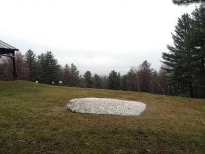 Snow Melt 4-30