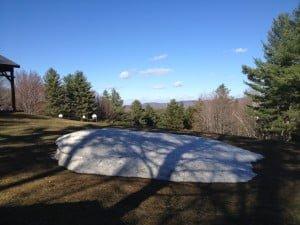 Snow melt 4-24