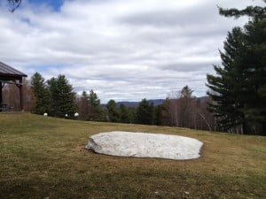 Snow melt 4-28