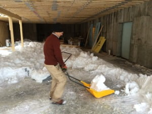 Stick Frame - Shoveling out the basement Gary Parker2